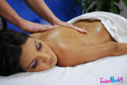 Hot 18 year old gets a sensual massage and a hard fuck!