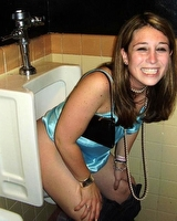 Pictures of chicks in the toilet