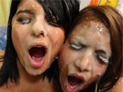 Christina Moure & Gaya - 2 FIne girls off the street get explosive cum blast.