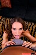 Sexy Euro slut Jennifer Dark is feeling like a little cock hungry whore.