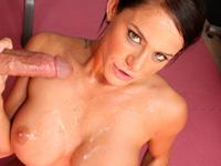 Savannah Stern - Hot brunette bends over to get fucked hard!