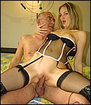 Cheap British prostitute shagged hard by a horny senior