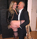 Cheap British prostitute shagged by a horny office clerk