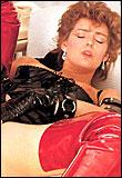 Kinky eighties lady gets her hairy asshole stuffed hard