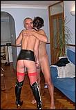 Kinky street slut shagged by a horny senior office clerk