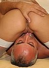 Blonde street slut shagged by a horny senior office clerk
