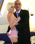 Blonde tatooed British slut fucked in her loose pussyhole