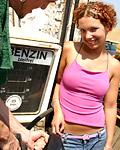 Redhead teenie enjoys a cock inside her tight pussyhole
