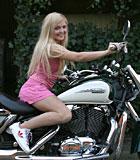 Petite blonde teenie girl enjoying two old biker penises