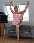 UK ballerina getting fucked hard by a horny erect senior