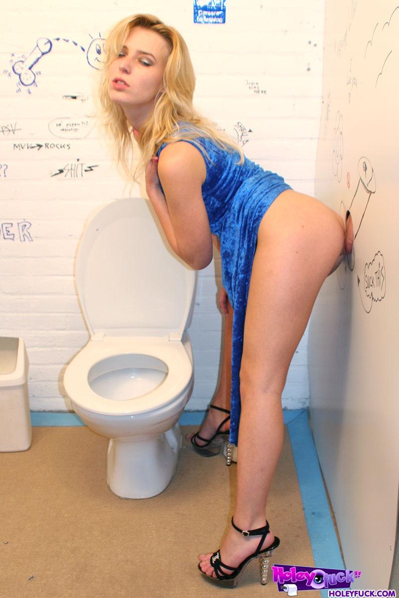 blonde gloryhole