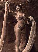 Classic ladies from the twenties showing their fine bodies