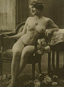 Several ladies from the twenties showing their fine body