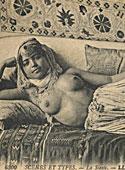 Ethnic vintage ladies showing their cute natural bodies