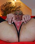 Slutty British blonde girl sucking jims stiff boner off