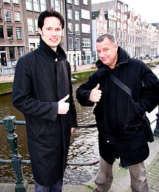 Naughty ebony prostitute pleasing a horny Amsterdam tourist