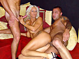 Dirty milf hooker gets double penetrated by two tourists