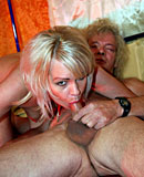 Mature window hooker gets dirty with real senior tourist