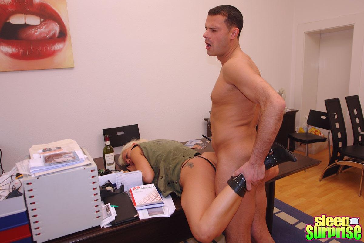 secretary fucked in ass tube