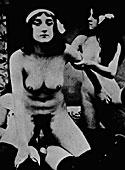 Sensual vintage couples having dirty sex in the twenties