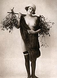 Several ladies showing their original vintage stockings