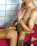 Skinny blonde hooker loves it in the back of her throat