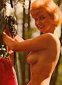 Vintage hairy blonde girls showing off their pretty bodies