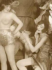 Several vintage Exotic performers in the early twenties