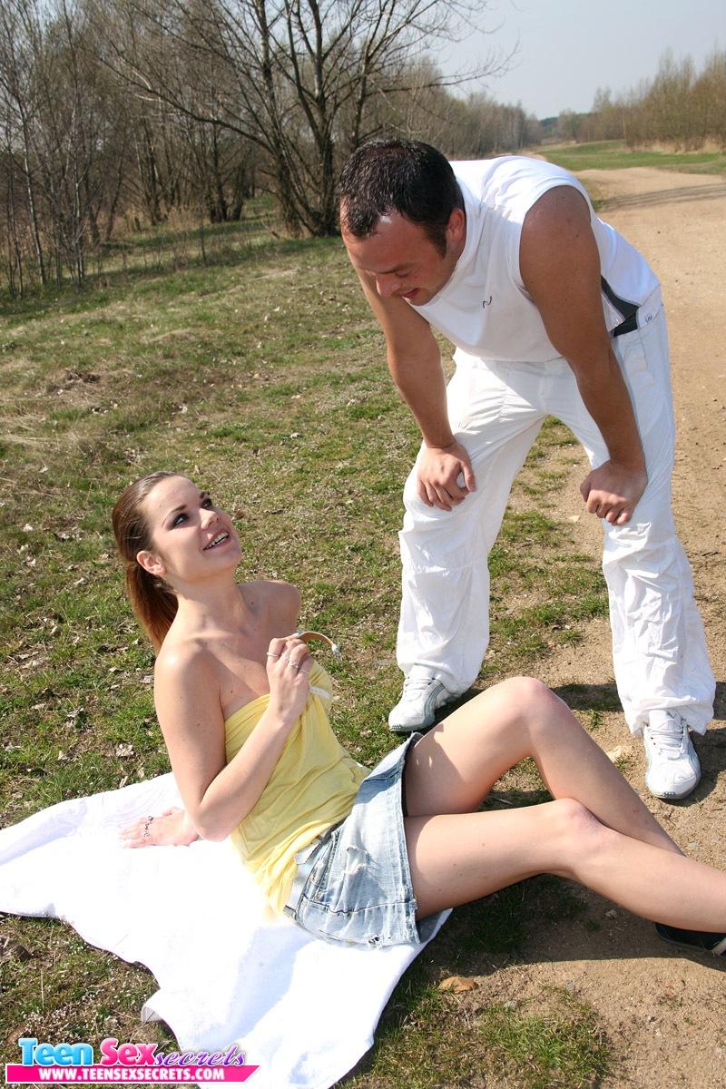 sex teen hard in public