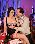 Sexy and also willing busty bar teenager fucked doggystyle