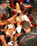 Many drunk chicks nailed hardcore at a horny orgy party