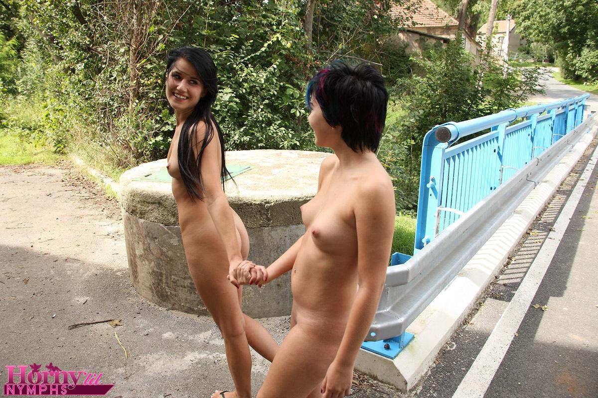 public naked dance