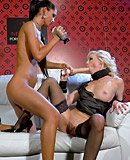 Two horny lesbian hotties filming each others moist cunt