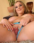 Horny hotshot rubbing his pecker between her large tits