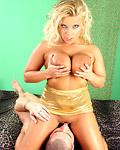 Naked willing teenage sweetie enjoys performing oral sex