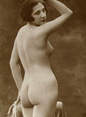 Posing their gorgeous vintage tight butts in the twenties