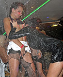 Drunk and crazy party girls fucking horny fellows hardcore