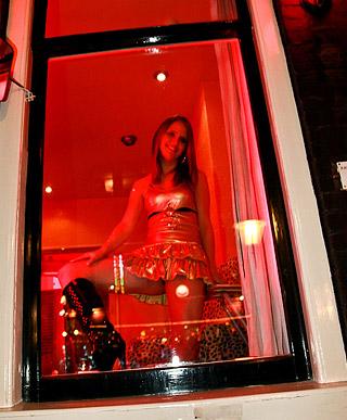 Amsterdam tourist loves shagging a real pretty prostitute