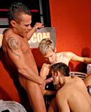 Very horny homosexual men enjoy swallowing loads of cum