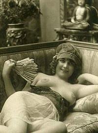 Handsome vintage beauties showing boobies in the twenties