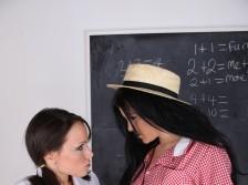 Lesbian College Girls Sluts Stacy & Lucy