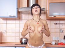 Maria Loves To Masturbate In The kitchen