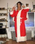 Happy Christmas with 19 yo Angelika!