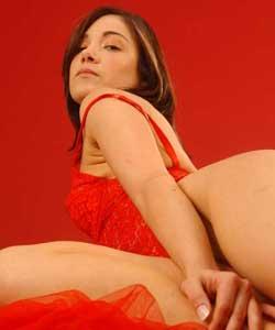 Carla in studio, masturbation and hand job