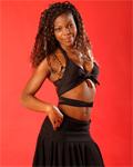 Kayla, 18 yo, black beauty with perfect body: strip, mast & bj