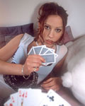 Hardcore strip-poker with a silly debutante