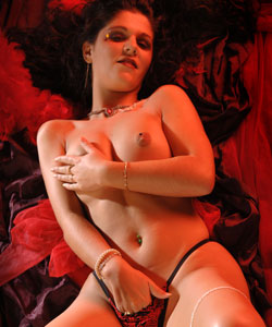 Young brunette marina in an artistic and dildo shoot...
