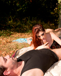 Miss lilith ass fucked by Titof outdoor...