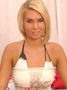 Sasha In white Dress