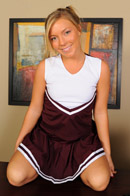Cheerleader Ally Kay